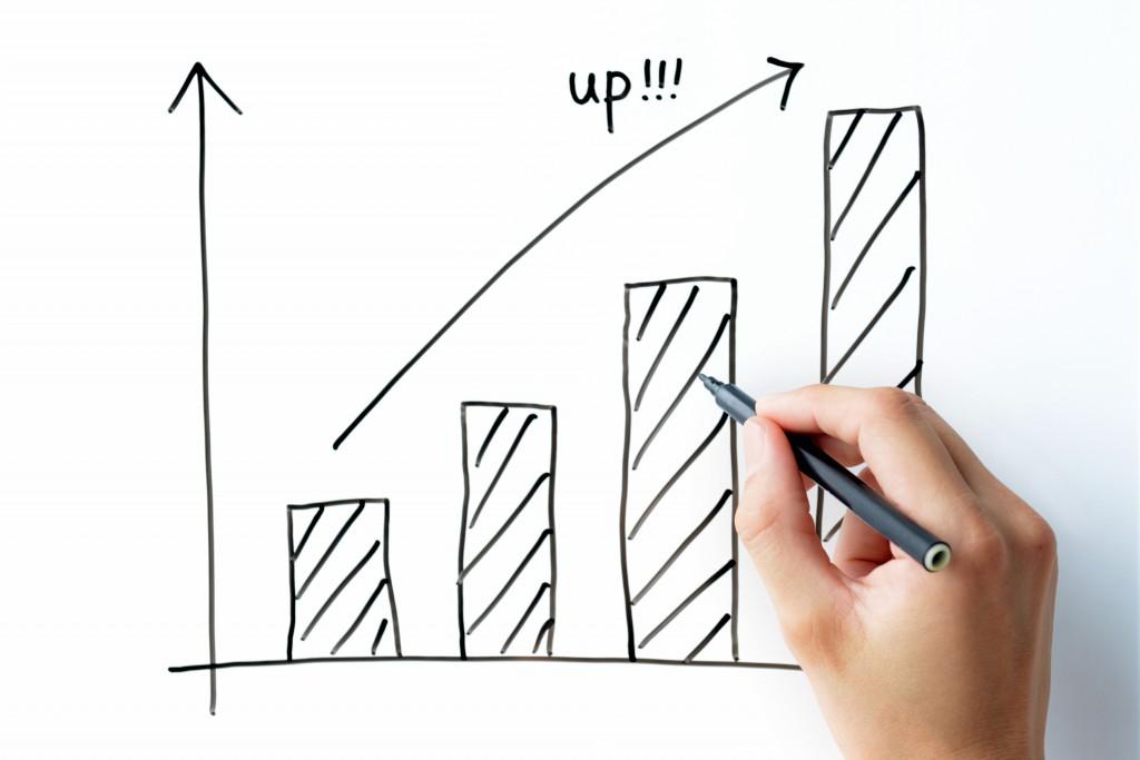 ビジネスイメージ―業績アップ